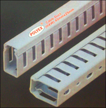 Slotted Cable Ducts