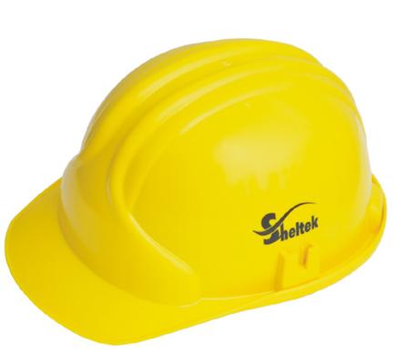 Adjustable Yellow Safety Helmets