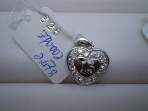 Shiny Sterling Silver Pendants
