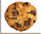 Super Crunchy Choc Raisin Cookies