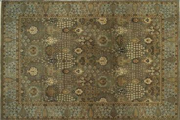 Cypress Green Hand Knotted Carpets