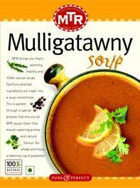 Mulligatawny Soup - MTR Foods pvt  Ltd , No 1, 2nd & 3rd Floor, 100