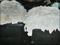 White Color Used Clothing