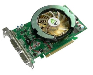 Dust Proof GF9600GT Graphic Card