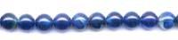 Blue Onyx Plain Round Beads Size: 7X7Mm - 8X8Mm Approx