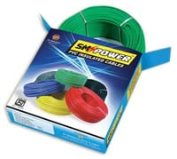 Green Color PVC Insulated Cables
