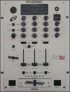 3 Stereo Channel Pro DJ Mixer