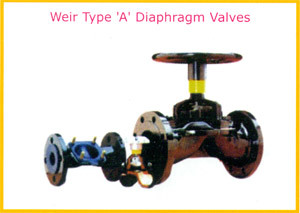 Weir type a diaphragm valves in pune maharashtra parth valves weir type a diaphragm valves in j block ccuart Gallery