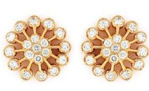 e5c2ee503c74e Diamond Ear Studs - GRT THANGAMALIGAL JEWELLERY PRIVATE LIMITED, 136 ...