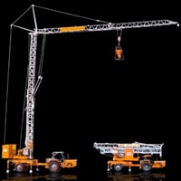 Mobile Tower Crane With Overload Limit Switch