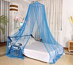 Blue Insecticide Treated Bed Mosquito Net