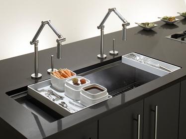 Kitchen sinks in gurgaon haryana india kohler india corp pvt ltd kitchen sinks in ambience island workwithnaturefo