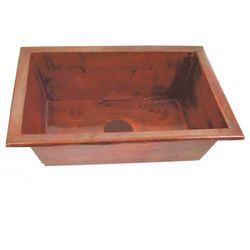 Copper kitchen Basin