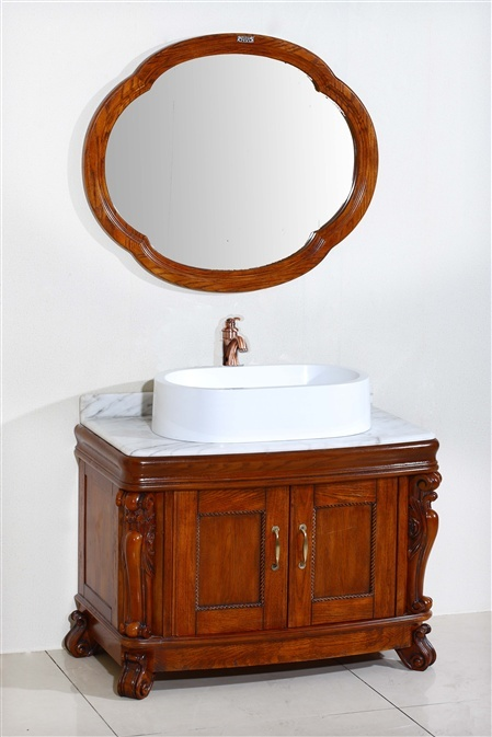 Designer Bathroom Wooden Cabinet