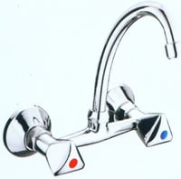 S S Wall Mixer Tap