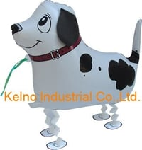 Black and White Pet Walking Balloon