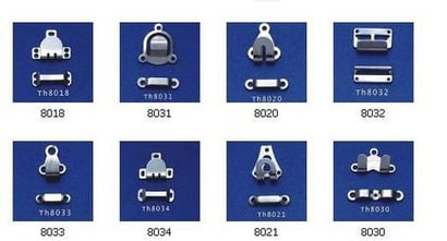 Various Colors Are Available Designer Metal Trouser Hooks