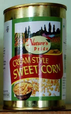 Cream Style Sweet Corn in   District Satara