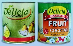 Hygienically Packed Canned Fruit Cocktail