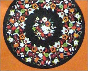 Various Colors Are Available Carved Inlay Marble Top