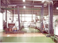 Continuous Mesh Belt Conveyor Type Hardening And Tempering Line Furnace