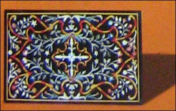 Various Colors Are Available Designer Inlay Marble Top
