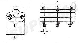 Bi-Metallic Parallel Groove Clamps