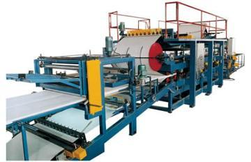 Multicolor Eps Sandwich Panel Forming Machine