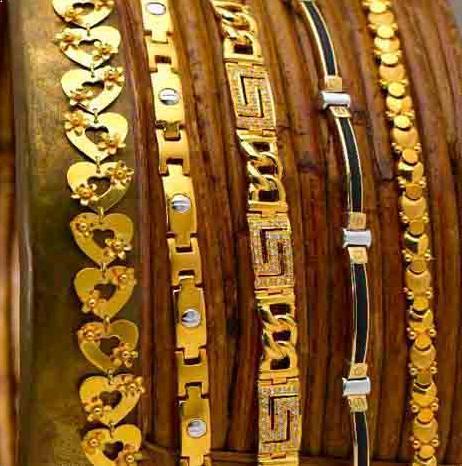 Aesthetic Gold Bracelets