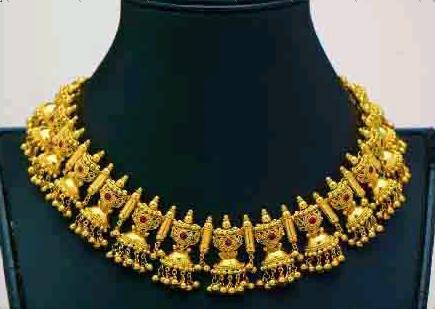 Antique Design Gold Necklace