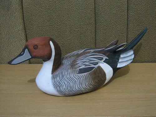 Decoration Wooden Duck Painting
