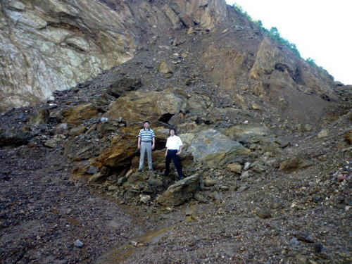 Manganese Ore Lumps in  Shibpur