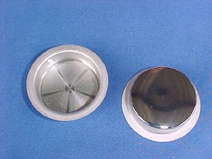 Stainless Steel Cup-Formed Spinnerettes