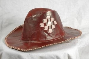 Mens Fashionable Leather Hats
