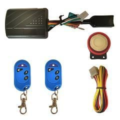 One Way Motorcycle Alarm System
