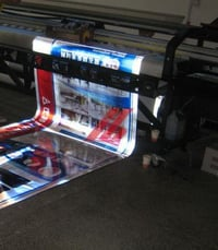 Reflective Vinyl Banners