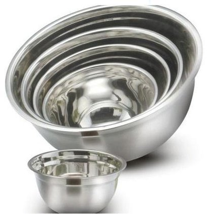 Silver Stainless Steel German Bowls