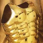 Brass Roman Muscle Armour
