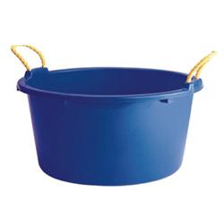 round plastic tubs with rope handles princeware international pvt ltd runwal omkar. Black Bedroom Furniture Sets. Home Design Ideas