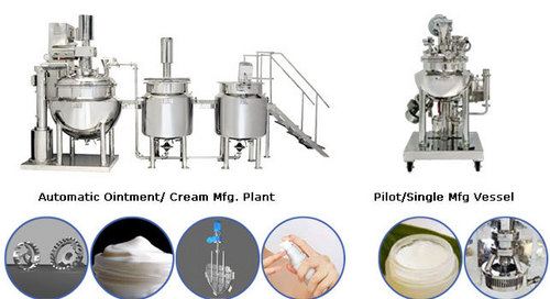 Automatic Ointment And Cream Making Plants