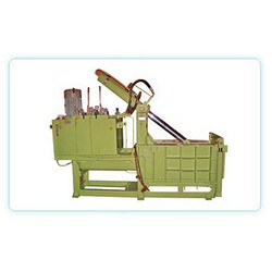 Horizontal Single Compression Scrap Baling Press