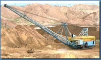 Earthmoving Walking Draglines Machine