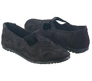Breathable Ladies Fashionable Black Shoes