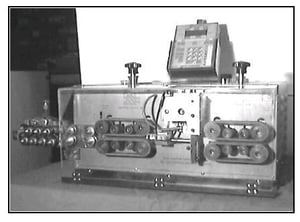 Battery Cable Cutting and Stripping Machine