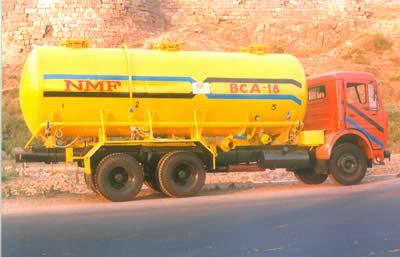 Mobile Bulk Tanker