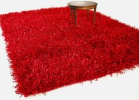 Red Hand Woven Carpet