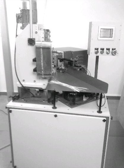 Wire Cutting, Stripping And Crimping Machine