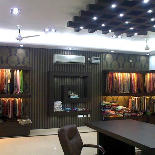 Interior Designing Services: Showroom Interior Designing Services In Mayur Vihar