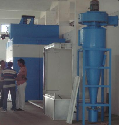 Powder Coating Plant in  Vatva Phase-Iii