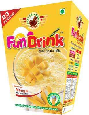 Mango Milkshake Powder